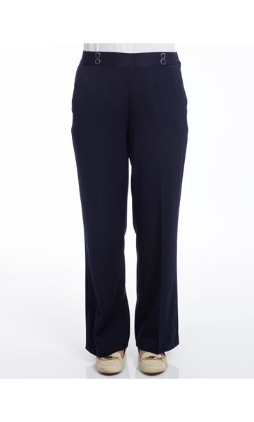 Anna Rose 29 Inch Trousers Navy