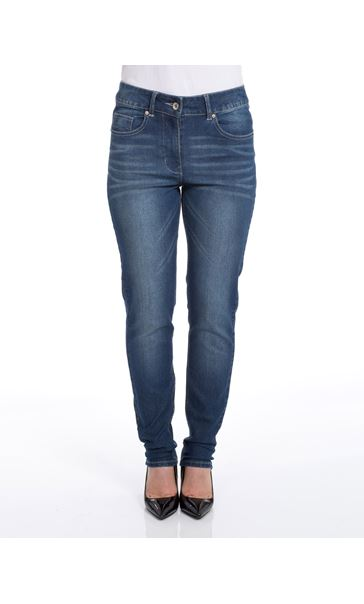 Relaxed Skinny Jeans Denim Blue
