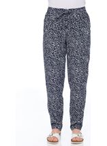 Anna Rose Tapered Trousers Navy/White - Gallery Image 2