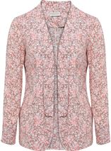 Anna Rose Open Jacket Grey/Coral - Gallery Image 1