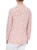 Anna Rose Open Jacket Grey/Coral - Gallery Image 3