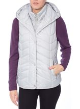 Chevron Padded Gilet Ice - Gallery Image 2