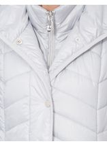 Chevron Padded Gilet Ice - Gallery Image 4
