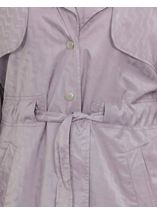 Turn Sleeve Trench Coat Mist - Gallery Image 4