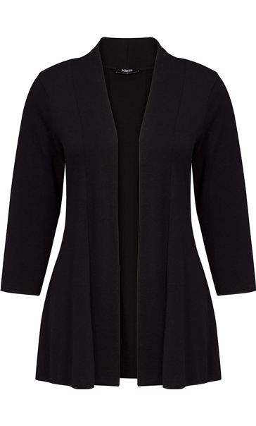 Lightweight Knit Cardigan Black