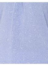 Anna Rose Laser Cut Textured Top Lilac - Gallery Image 3