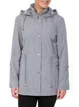 Anna Rose Lightweight Coat Chambray - Gallery Image 3