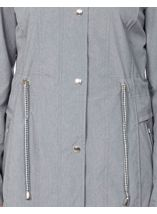 Anna Rose Lightweight Coat Chambray - Gallery Image 5