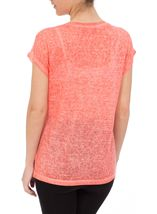 Lace Trim Top Coral - Gallery Image 3