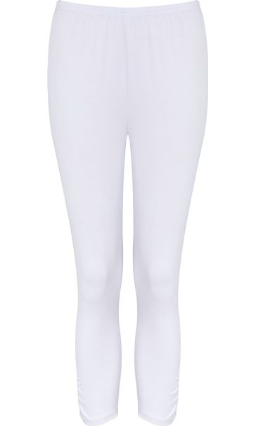 Cropped Leggings White
