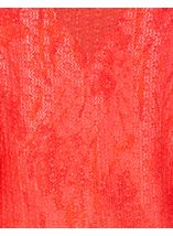 Anna Rose Long Sleeve Open Cover Up Coral Rose - Gallery Image 3