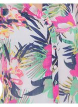 Anna Rose Floral Chiffon Blouse Jungle - Gallery Image 4
