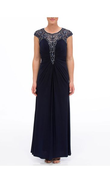 Luxury Embellished Maxi Dress