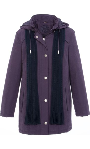 Anna Rose Scarf Coat