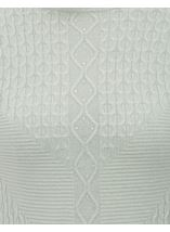 Anna Rose Cable Detail Knit Top Mint - Gallery Image 4