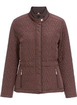 Anna Rose Short Quilted Jacket Copper - Gallery Image 1