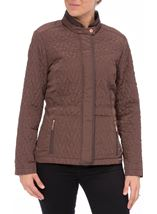 Anna Rose Short Quilted Jacket Copper - Gallery Image 2