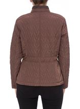 Anna Rose Short Quilted Jacket Copper - Gallery Image 3