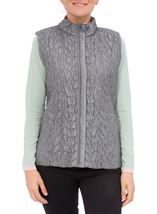 Anna Rose Reversible Gilet Grey - Gallery Image 3