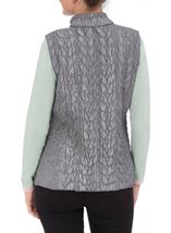 Anna Rose Reversible Gilet Grey - Gallery Image 5