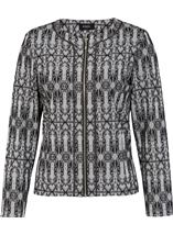 Metallic Light Weight Printed Jacket