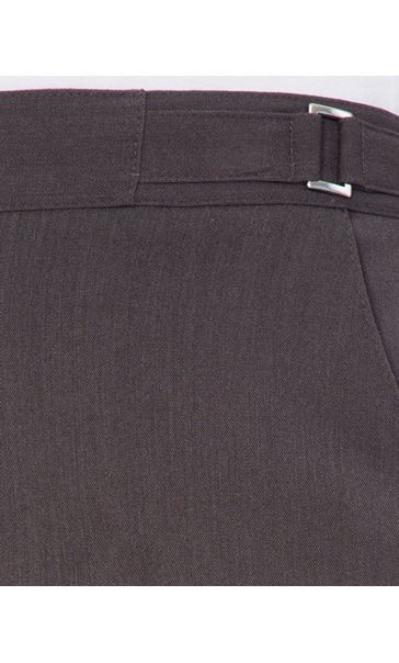 Anna Rose Straight Leg Trousers 27 Inch Charcoal - Gallery Image 3