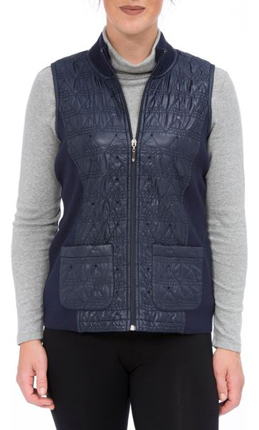 Anna Rose Gilet Navy - Gallery Image 2