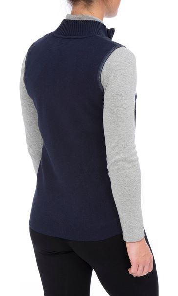 Anna Rose Gilet Navy - Gallery Image 3