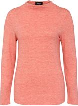 Lightweight Knitted Turtle Neck Top Rust - Gallery Image 1