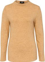 Lightweight Knitted Turtle Neck Top Mustard - Gallery Image 1