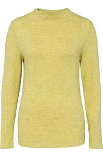 Lightweight Knitted Turtle Neck Top - Green
