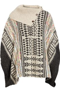 Patterned Knitted Cape