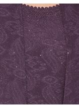 Anna Rose Sparkle Moc Top And Cover Up Dusty Purple - Gallery Image 4
