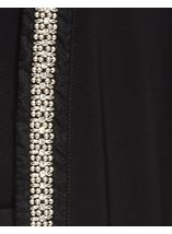 Longline Embellished Open Cover Up Black - Gallery Image 4