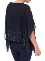 Embellished Chiffon Cover Up Midnight - Gallery Image 3