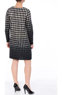 Brushed Dogtooth Knitted Tunic