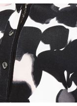 Anna Rose Printed Jersey Top Black Floral - Gallery Image 3