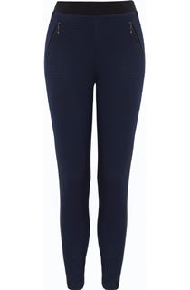 Two Tone Pull On Treggings