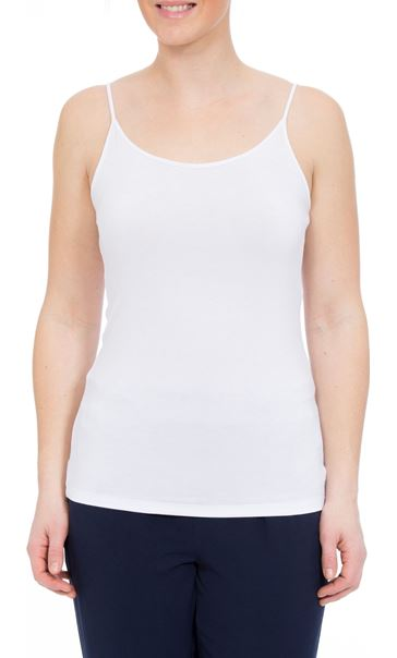 Camisole Top White - Gallery Image 2