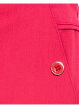 Anna Rose 27 Inch Straight Leg Trousers Raspberry - Gallery Image 4