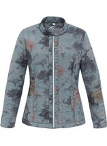 Anna Rose Floral Print Padded Coat Pale Floral - Gallery Image 2