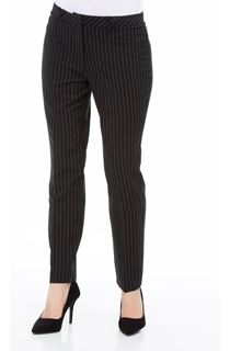 Pinstripe Narrow Leg Trousers