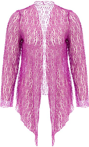 Anna Rose Sparkle Knit Tie Cover Up Mauve