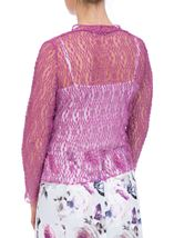 Anna Rose Sparkle Knit Tie Cover Up Mauve - Gallery Image 3
