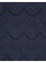 Cold Shoulder Lace Top Midnight - Gallery Image 4
