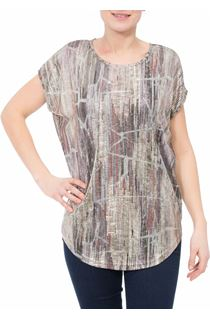 Loose fitting spangly top