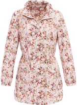 Floral Printed Lightweight Parka Meadow - Gallery Image 1