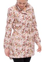 Floral Printed Lightweight Parka Meadow - Gallery Image 2