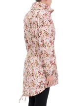 Floral Printed Lightweight Parka Meadow - Gallery Image 3