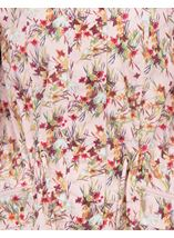 Floral Printed Lightweight Parka Meadow - Gallery Image 4
